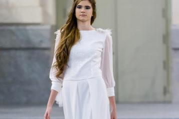 Mi desfile de vestidos de novia en Cibeles