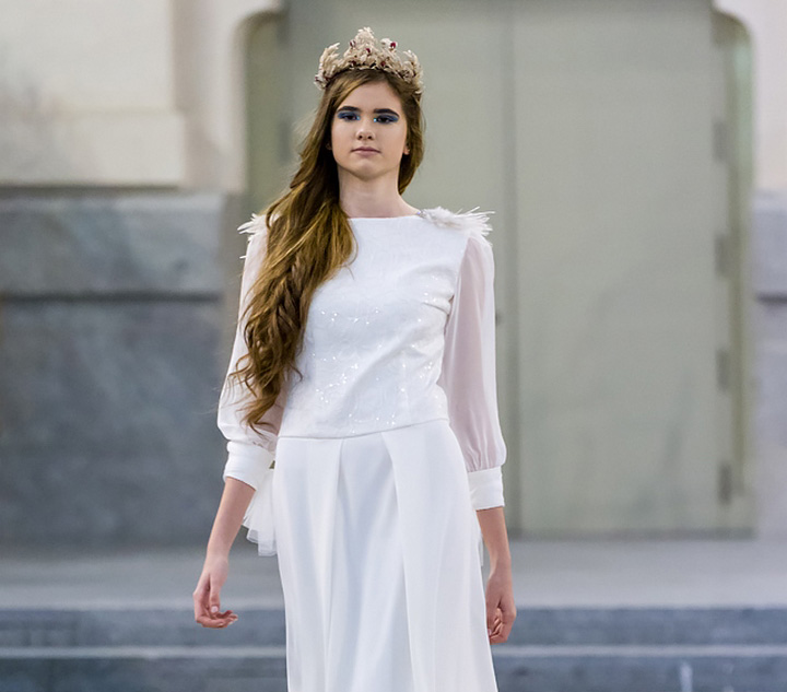 desfile de vestidos de novia