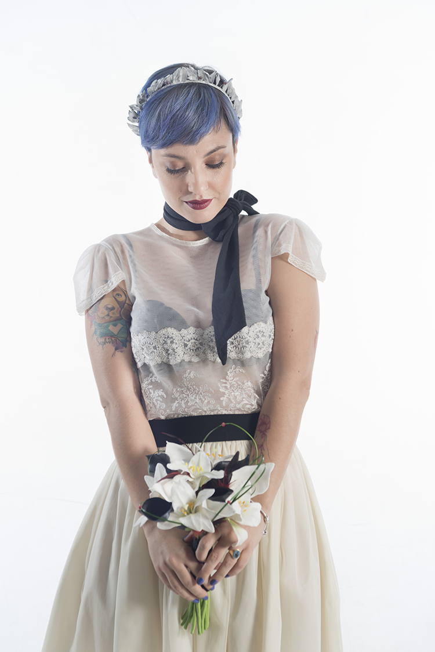 traje de novia alternativo rock madrid