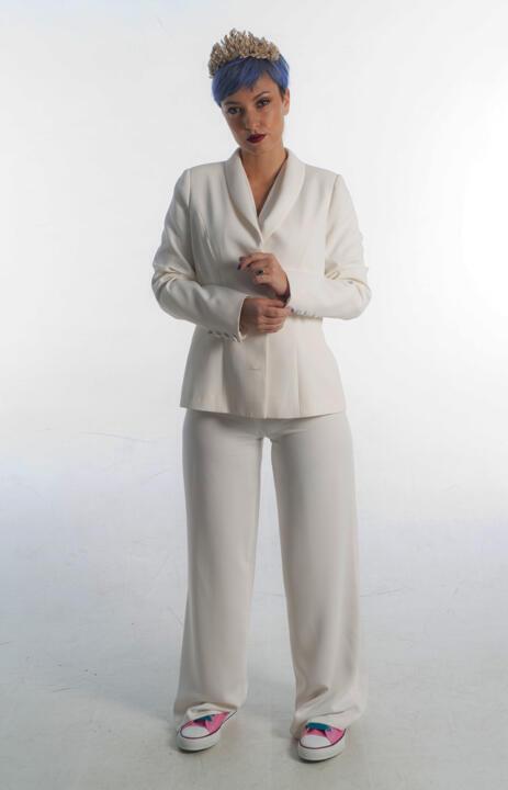 trajes de novia con pantalón