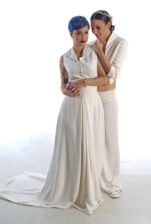 boda LGTBI modelos de vestidos y trajes de novias