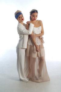 traje de novia para boda de chicas