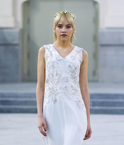 vestido para boda civil madrid