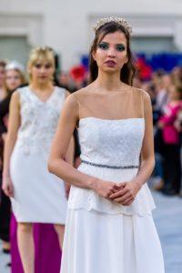 vestido de novia palabra de honor madrid