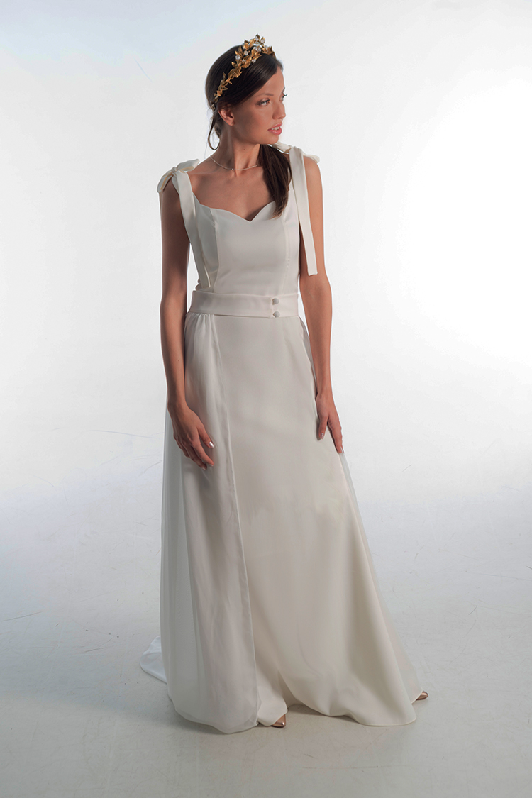 vestido de novia elegante original