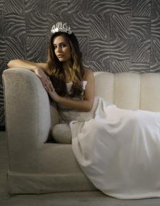 vestido de novia romantico con encaje