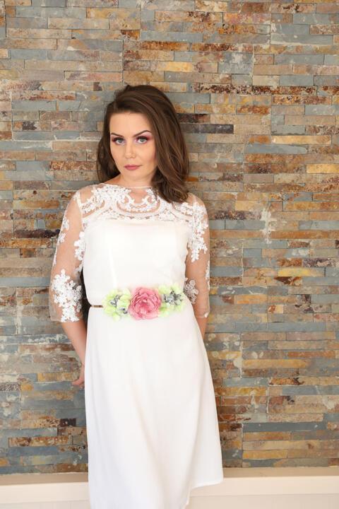 vestido de novia barato boda civil