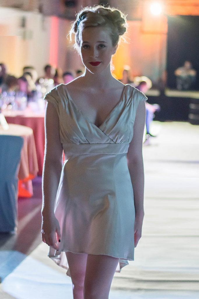vestidos de novia cortos imperio