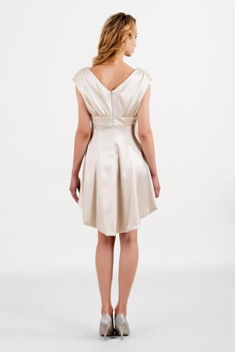 vestido de novia corto para boda civil