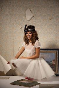 vestidos de novias cortos originales