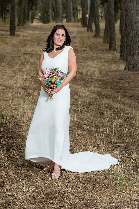 vestido de novia a medida Madrid