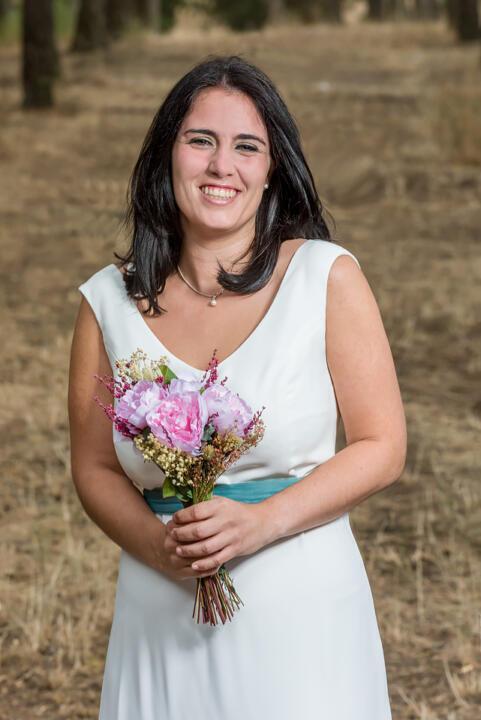 vestido de novia a medida en Madrid