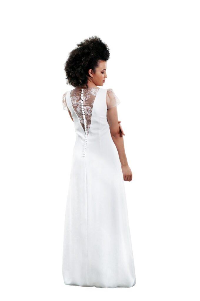 vestido de novia con encaje barato online