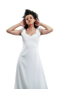 vestido de novia elegante en linea