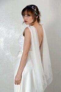 vestidos de novias con escote en la espalda