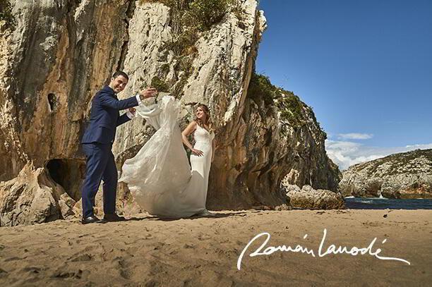 fotógrafo de bodas realmente apasionado, Roman Larrode