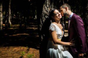 vetsido de novia con fajín