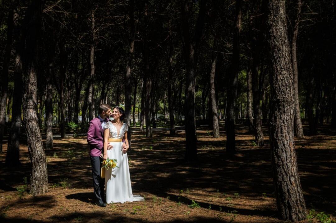 vestido de novia a medida Madrid Maribel
