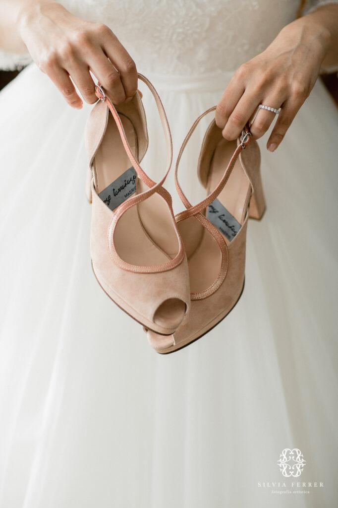calzado de novia a medida madrid