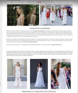 vestidos de novias españa