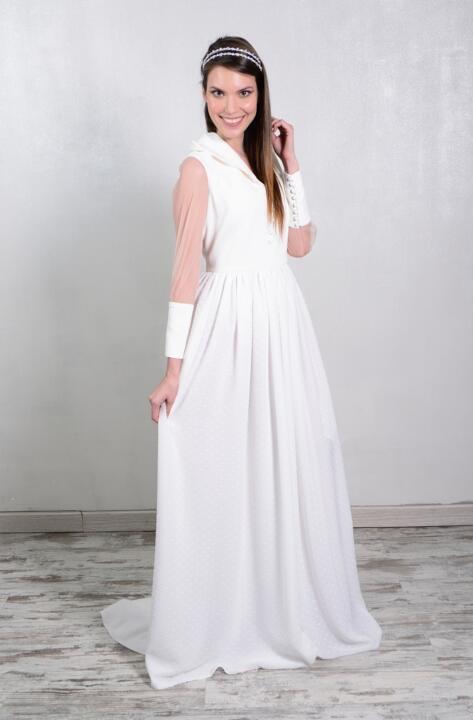 vestido d enovia de invierno