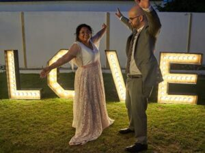 vestido de novia medida madrid con encaje